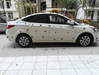 car rental, car on hire for wedding
