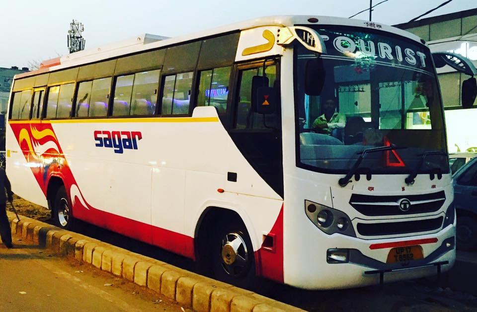 Hire Buses Delhi NCR