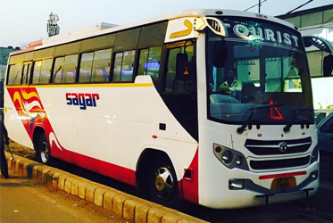 Coach Buses for Rent Faridabad