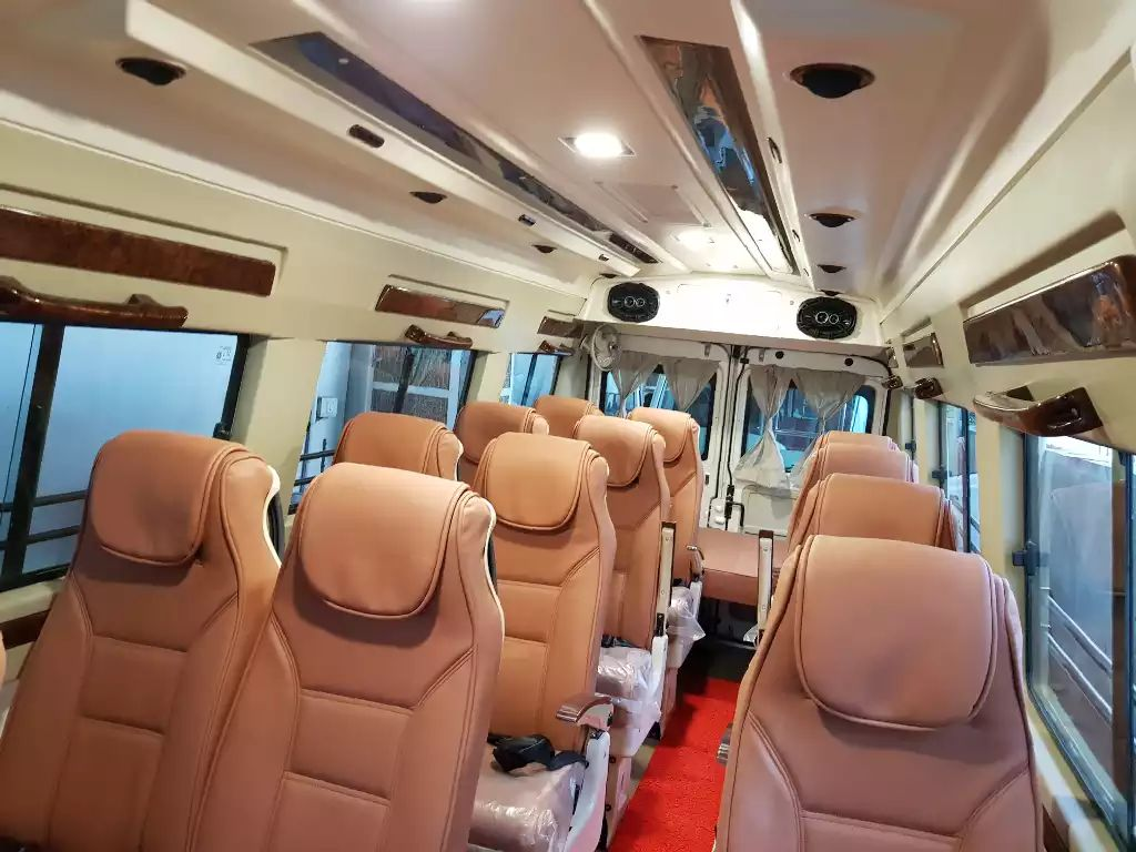 bus on rent in Gurgaon