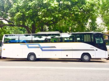 Bus hire in delhi, bus on rent delhi