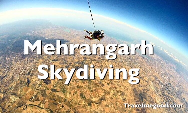 Mehrangarh fort - skydiving - Places to visit near Delhi - Weekend getaways from delhi -Travel me good - bus on rent car on hire