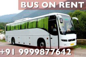 Hire bus on rent, bus on hire, bus on rent, Rent a bus,