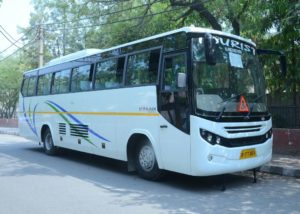 Bus on Rent in Delhi, Bus on hire