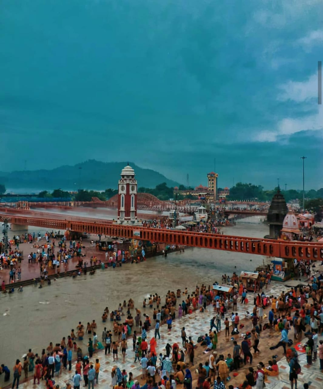 Delhi to Chardham bus hire, Bus on rent for Char Dham